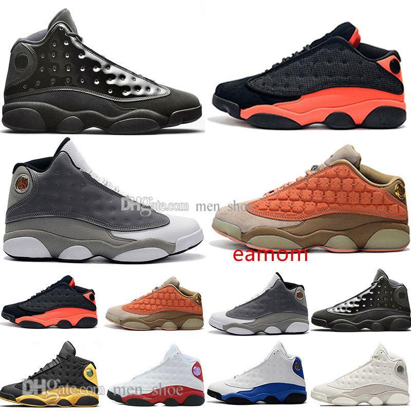 13 nouvelles 13s chapeau et robe en terre cuite fard à joues Hommes Chaussures de basket-ball He Got jeu noir Flints infrarouge Bred Hommes Sport Chaussures de sport Formateurs Designer
