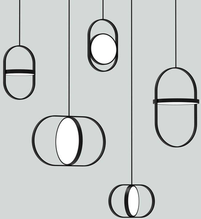 New Nordic kreative Schlafzimmer Nacht Kronleuchter Designer postmodernen einfachen Restaurant Bar Persönlichkeit einzigen Kopf kleiner Kronleuchter