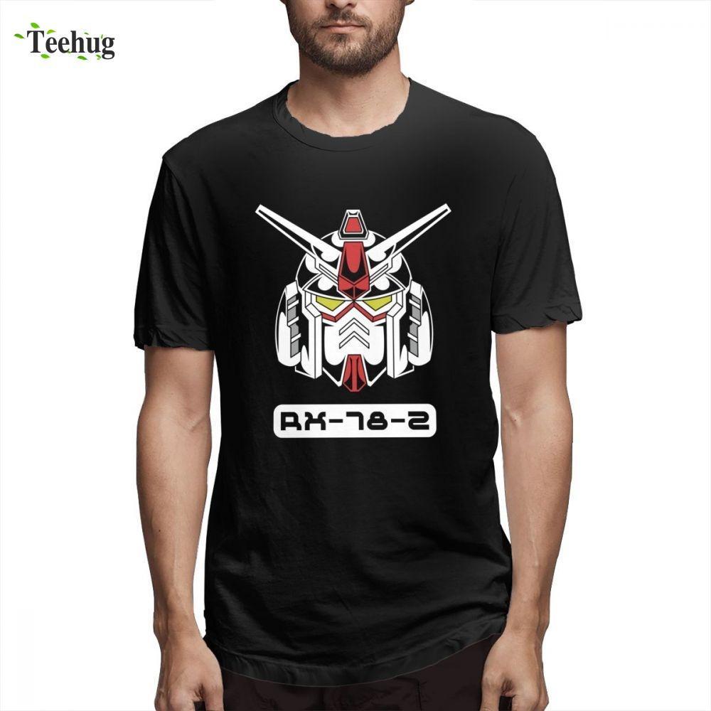 Boy için Gundam (3) Kısa Kol Vintage İçin Boy 2018 Yeni Top Tasarım Kalite Pamuk Homme Tee Gömlek