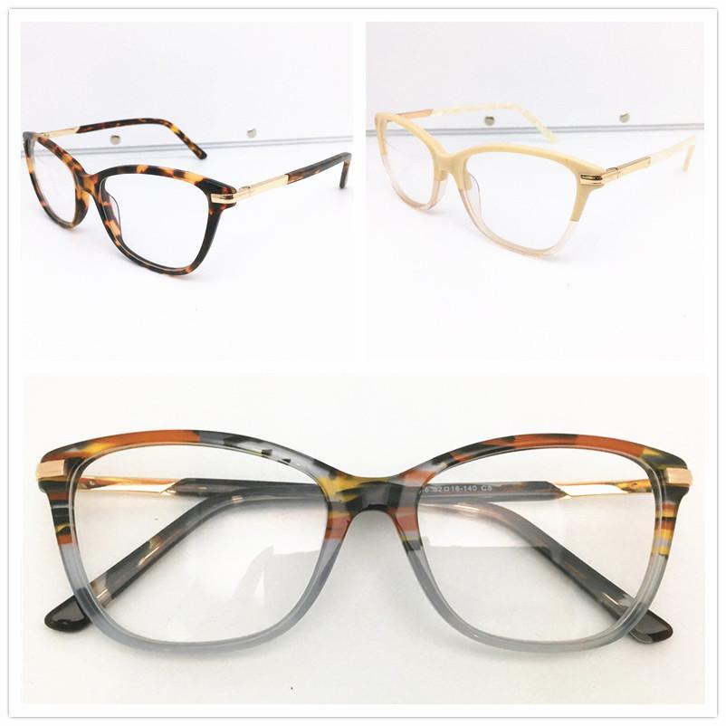 الرجال إطارات عالية الجودة العلامة التجارية تصميم بصري أزياء المرأة خمر خلات نظارات النظارات بلانك نظارات إطار نظارات نظارات HL0046