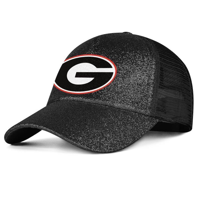 Georgia Bulldogs Logo Mesh Hat Boy Girl Kids Baseball Trucker Cap Adjustable