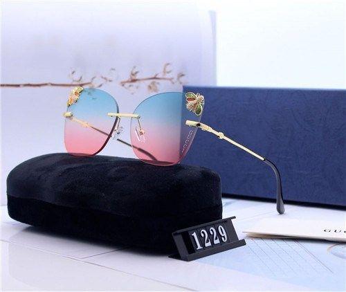TOP qualidade Marca de óculos de sol de luxo homens mulheres verão óculos de sol UV400 polarizada Sport Sunglasses homens de óculos de sol de ouro com caixa