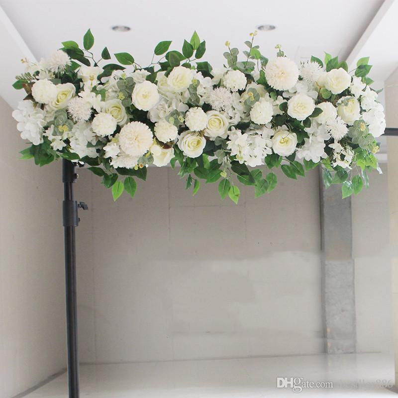 2020 Upscale Artificial Silk Peonies Rose Flower Row Arrangement Supplies For Wedding Arch Backdrop Centerpieces Diy Supplies From Bestller886 36 19 Dhgate Com
