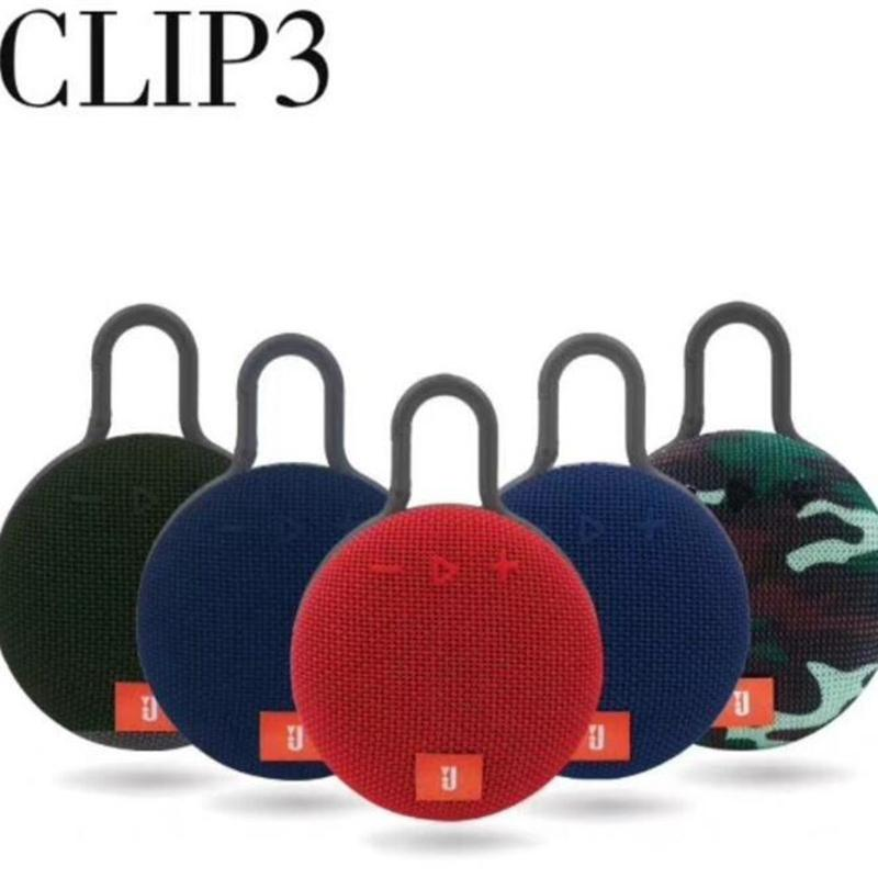 CLIP3 Wireless Bluetooth Portable Speakers outdoor Sports Audio Player subwoofer Waterproof Subwoofer Power Bank USB interface TF card DHL