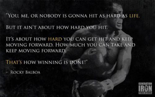 2019 Rocky Balboa Motivational Quote Boxing Wall Art Silk Print Poster 24x36inch60x90cm 014 From Chuy8988 10 93 Dhgate Com