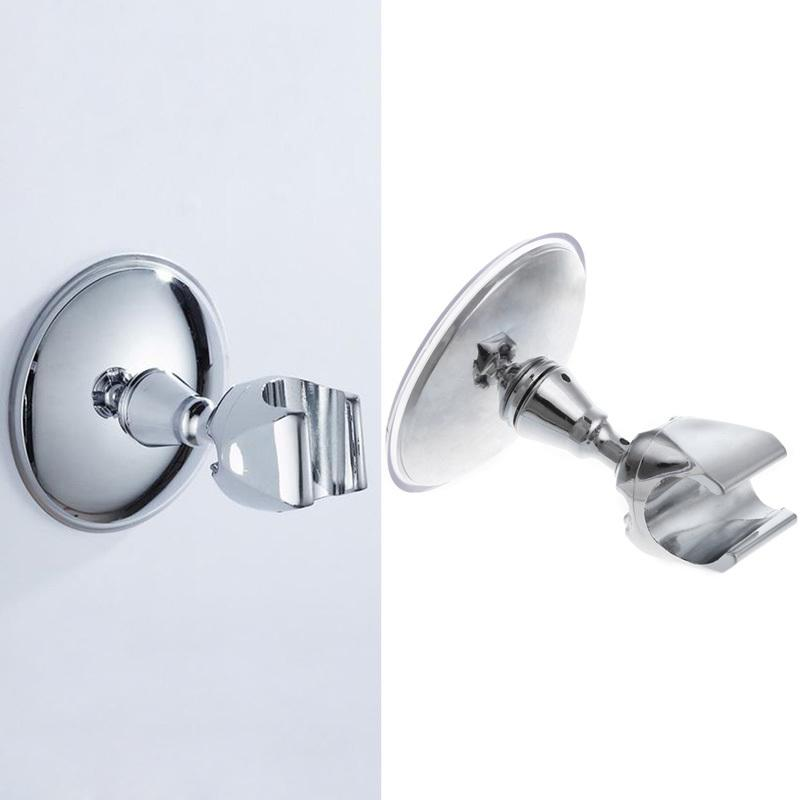 New 360 Degree Rotatable Suction Showerhead Holder Wall Attachable