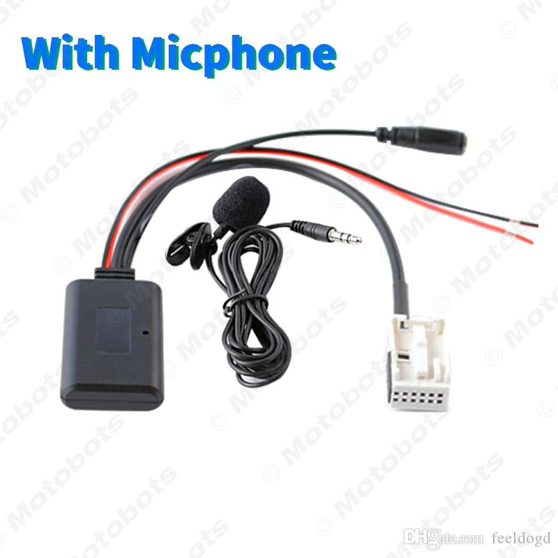 Car Audio-Bluetooth-Empfänger Aux-Adapter für PEUGEOT307 / 408/508 Citroen C-Triomphe C2 C5 Funkmodul Bluetooth Aux-Kabel # 6117