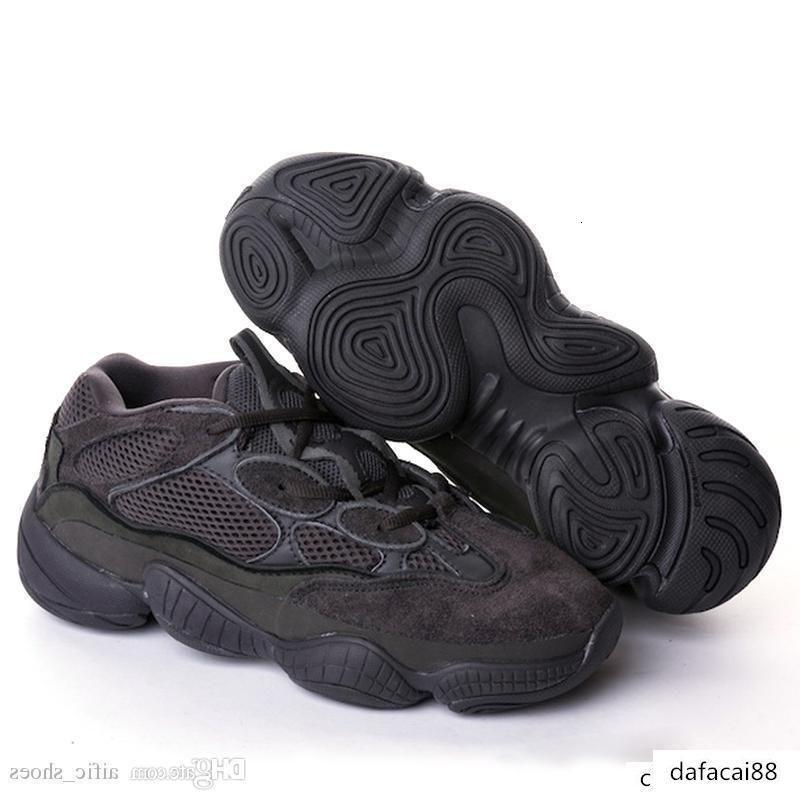 mens progettista scarpe da ginnastica Blush Deserto Rat 500 Nero Super Luna Giallo Kanye scarpe da corsa Scarpe da ginnastica Stivali donna casuali