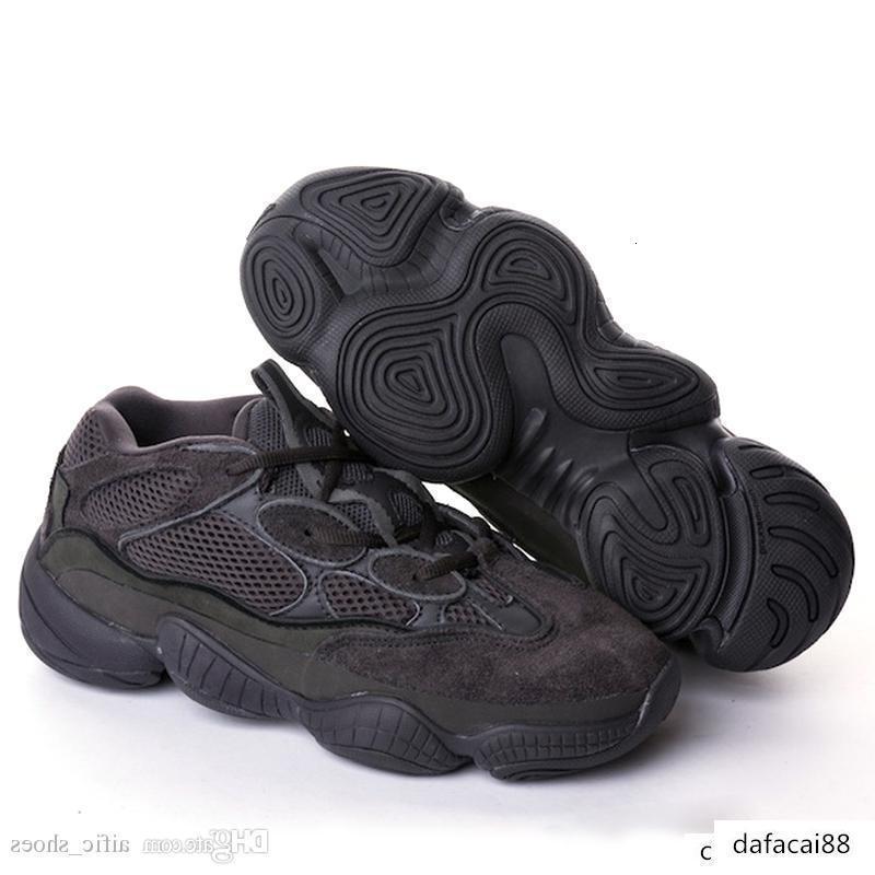 mens tasarımcının spor ayakkabısı Allık çöl faresi 500 Siyah Süper Ay Sarı kanye koşu ayakkabıları Erkekler Eğitmenler Kadınlar gündelik Çizme