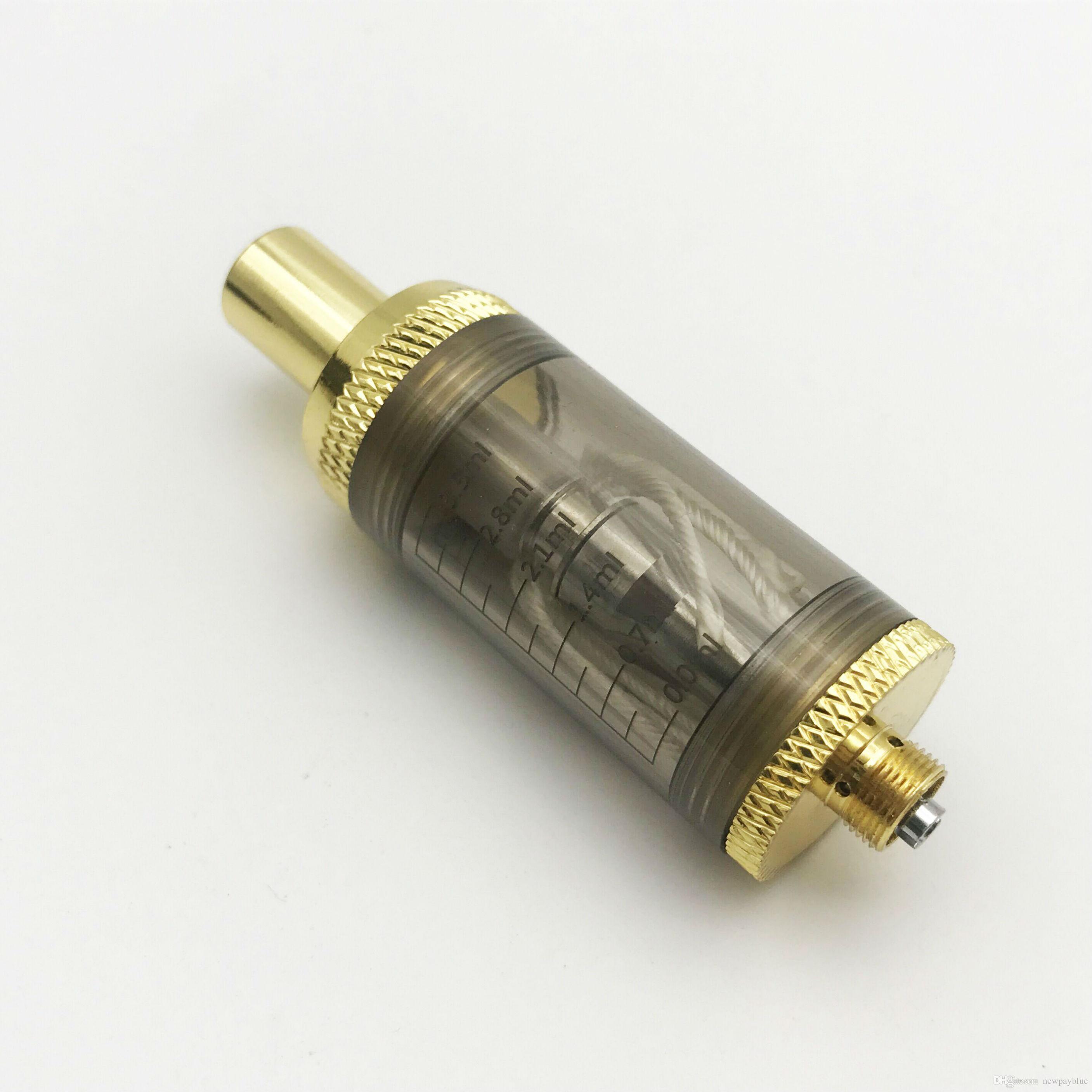 Clearomizer Atomizer Tank 3ml de grande capacidade de substituição de tensão ajustável para E Pipe 168 vaporizador Vape Pen vaporizador de cigarro eletrônico