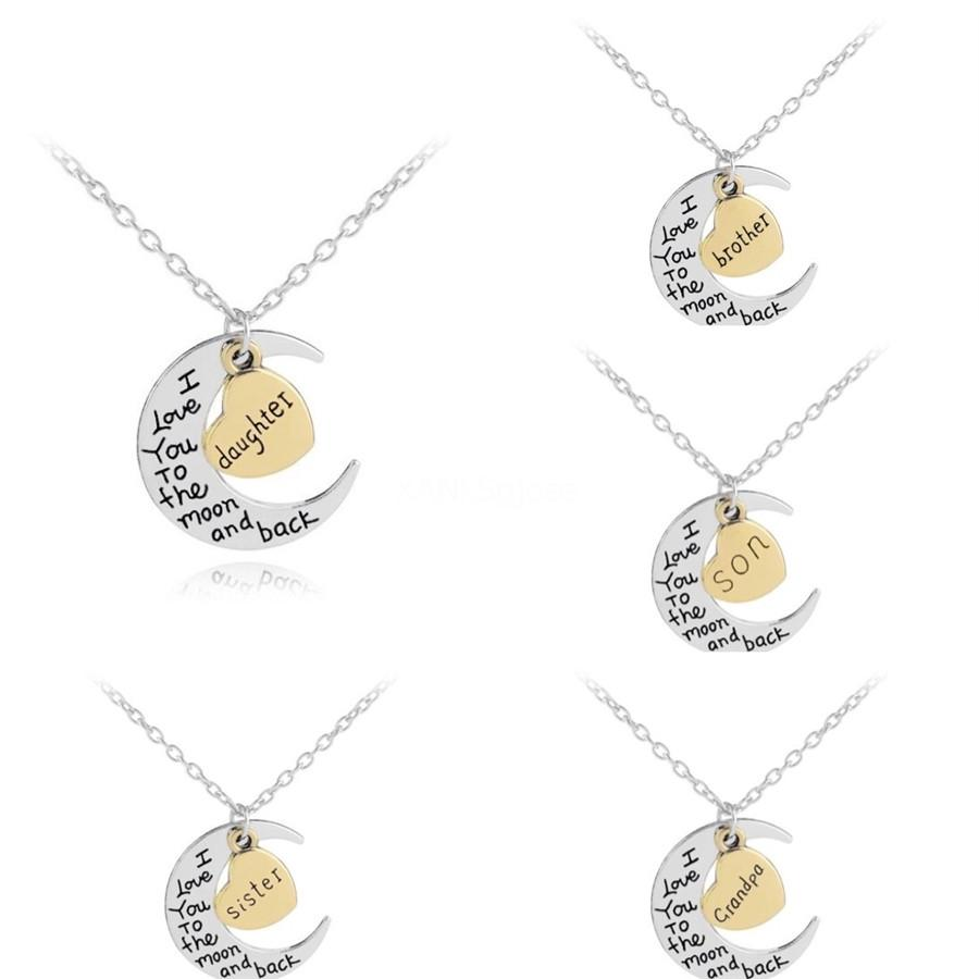 Europe And The United States Exaggerated Fashion 26 English Letters A ~ Z Necklace Gold Alloy Letter Pendant Necklace#988