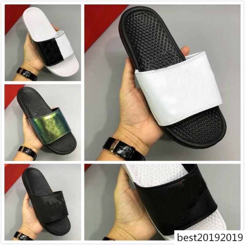2020 mode diapositives sport concepteur simple unisexe chaussures styles été large Sandales plates maison Chaussons sports de plein air taille Flip Flop: 36-45