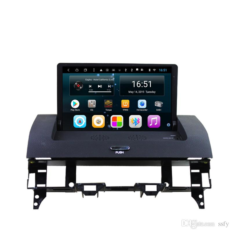"""Android car player with Resolution HD 1024 * 600 free map multi-touch screen excellent bluetooth multimedia player for Mazda 6 2002-2008 8"""""""