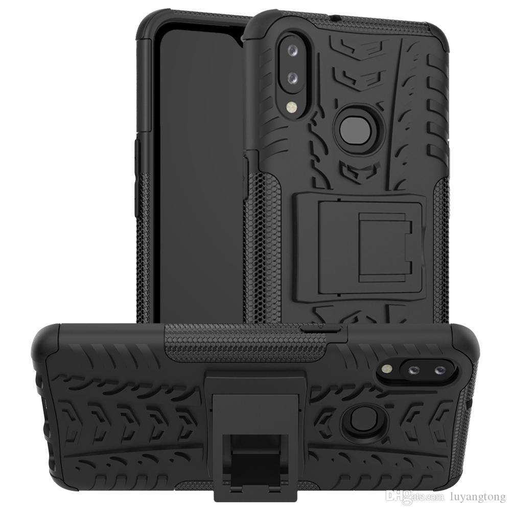 Pour Samsung Galaxy A10S cas hybride Armure Hard Case Protectior Pour Samsung Galaxy S A107F A10 Couverture arrière