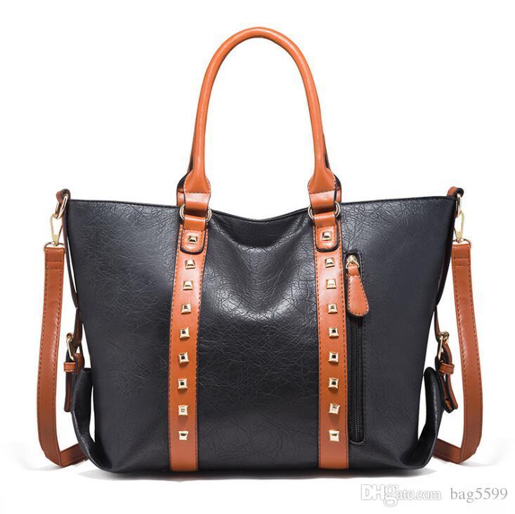 HBP 2021new portable ladies bag shoulder bag diagonal large retro women large capacity bag