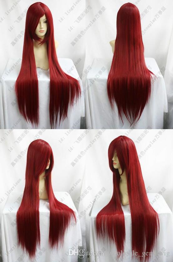 Парик ЛЛ Бесплатная доставка Sexy режиме парики Ной Ланг Дункель-сгниет косплей партией Глатт Калифорния.100см