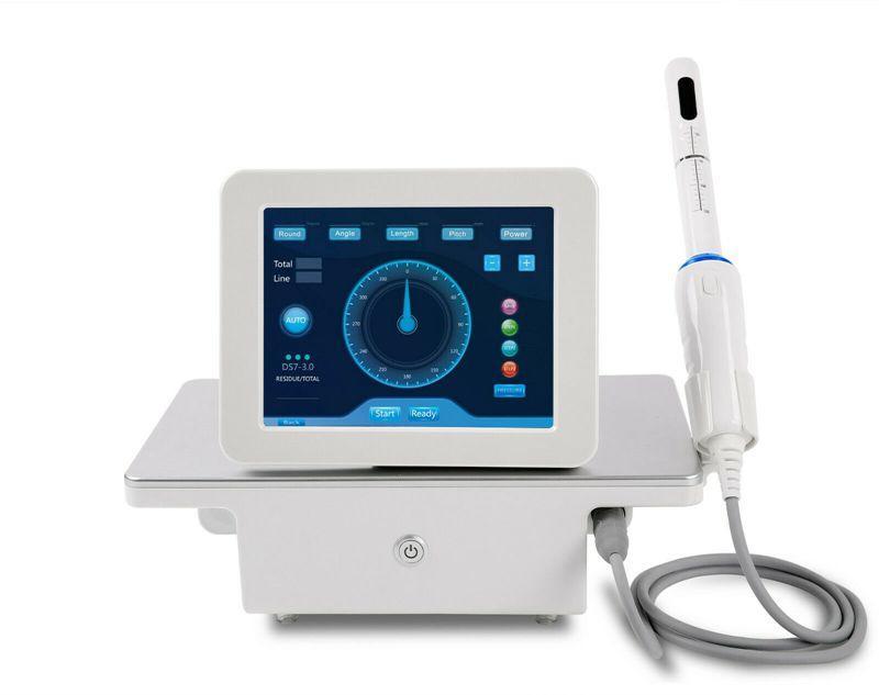 2019 vendite calde !!! Portable HIFU macchina High Intensity Focused Ultrasound HIFU vaginale serraggio ringiovanimento della pelle macchina di cura di bellezza