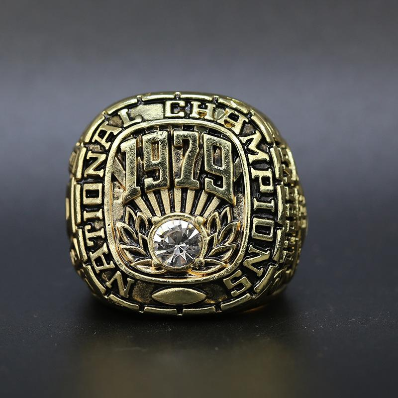 1979 Alabama Crimson Tide College Football SEC National Championship Ring American Football Fan Souvenirs Ring