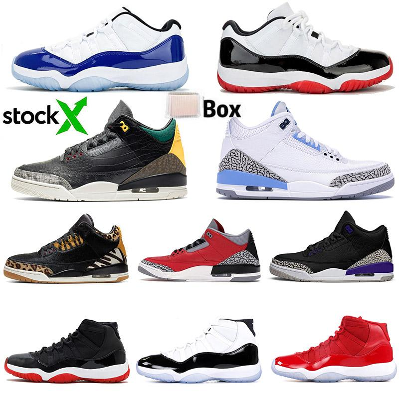 11s White Bred Katrina Mens Basketball Shoes XI Concord Gym Red Animal Instinct Sucia UNC Blue Black Cement Womens Sports Sneakers 36-47