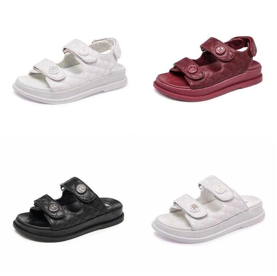 Verão Plano Sandálias 2020 Anti Slip mãe Shoes Mulheres sandálias confortáveis Sapatos Femininos Sandálias Plataforma das senhoras 41 # 970