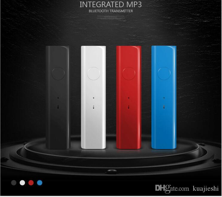 Receptor de audio Bluetooth para automóvil Convertidor de audio Bluetooth 4.1 Receptor AUX Bluetooth