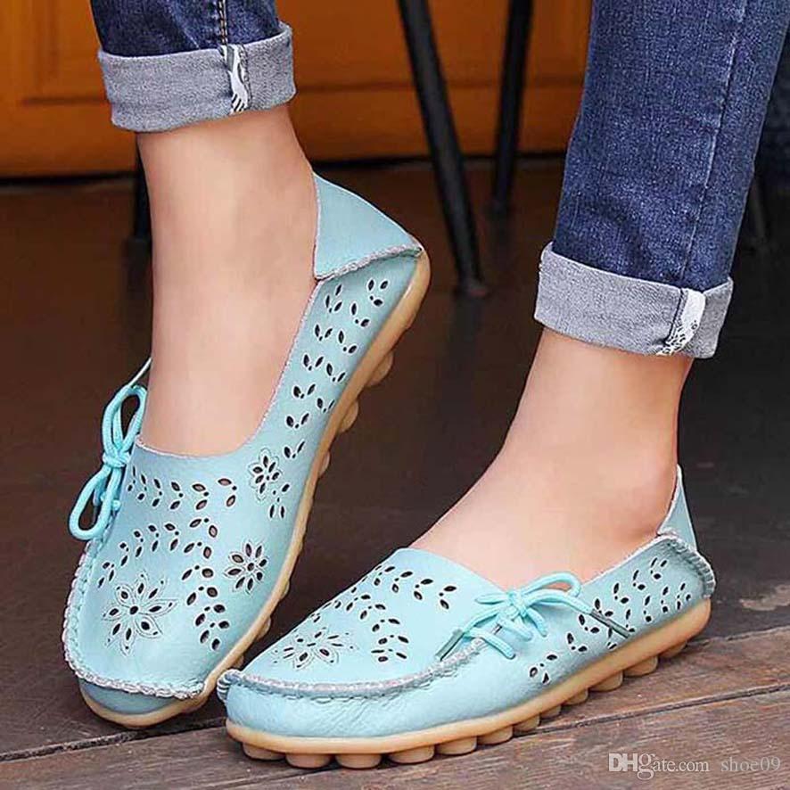 Frauen Schuhe Qualitäts-Leder-Turnschuhe Espadrilles mans Trainer Faulenzer Luft Espadrilles des chaussures shoe09 px89