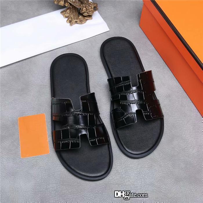 Para hombre de color zapatillas de cuero, zapatillas de cuero multicolores para un barato y barato escapada Juego completo de caja de zapatos