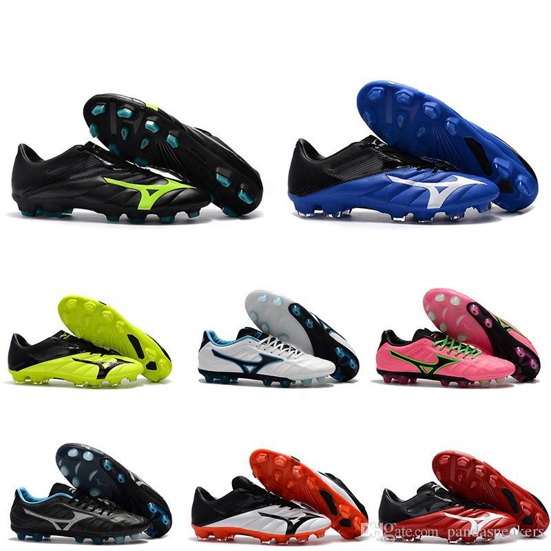 2018M новый Mizuno Rebula V1 мужские футбольные бутсы футбольные бутсы бутсы BASARA AS WID горячий хищник открытый футзал спортивные кроссовки обувь Size40-45