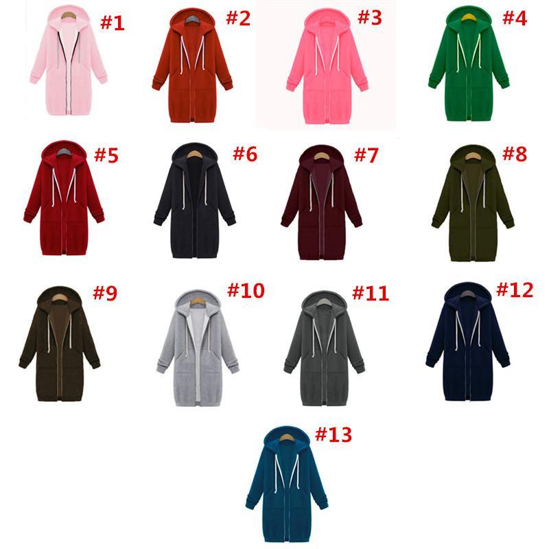 Толстовки женские зимние мягкие с длинным рукавом свитер с капюшоном на молнии с капюшоном карман новый горячий стиль пальто теплая одежда