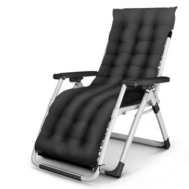 Moderne und einfache schwangere Frauen Siesta Chair Haushalt Falten Recliners mit Matte Strand Tragbare Licht Stuhl Einstellbare rückwärts
