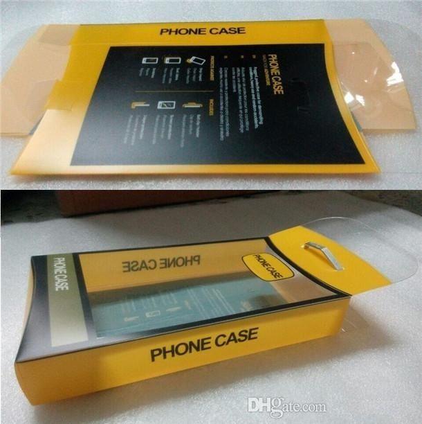 El paquete universal de plástico con interior Insertar para iPhone Pro X 11 X 7 Max 8 Plus Samsung Galaxy S10 Defender la caja del teléfono