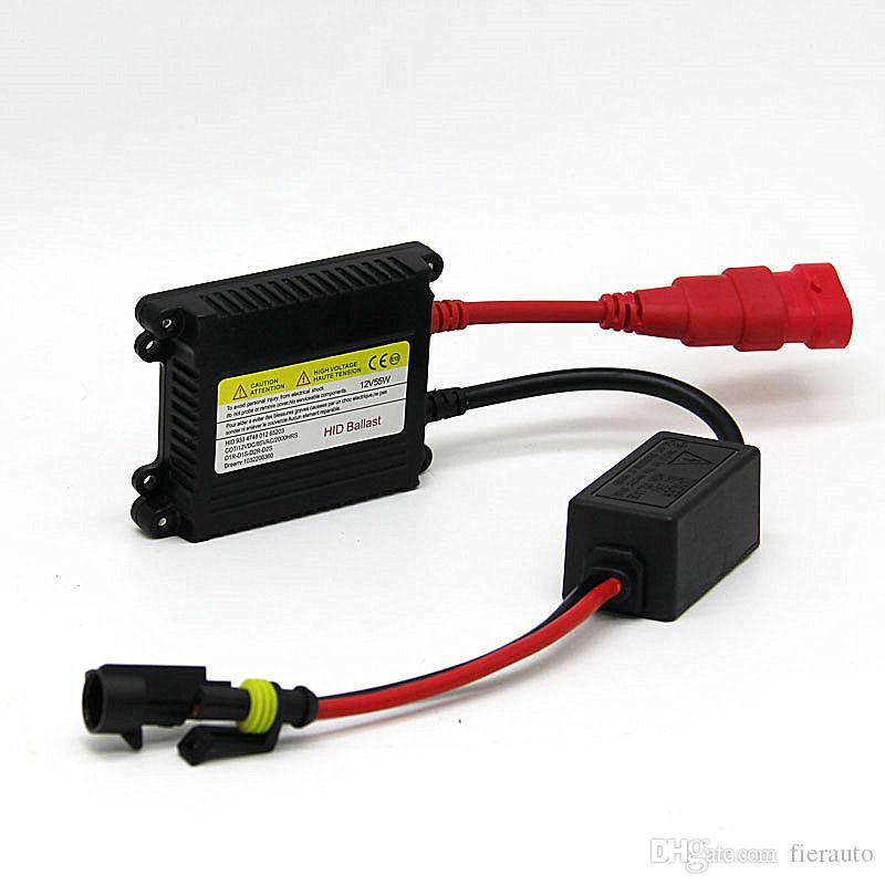 50 pcs HID 55W Xenon Replacement Electronic Digital Conversion Ballast Kit Ignition Unit Block for Xenon H7 H1 H3 H4 H11 9005 9006
