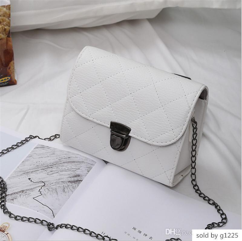Fabrika Toptan 2019 yeni çanta çapraz desen sentetik deri kabuk zincir Omuz Messenger çanta Fashionista 04