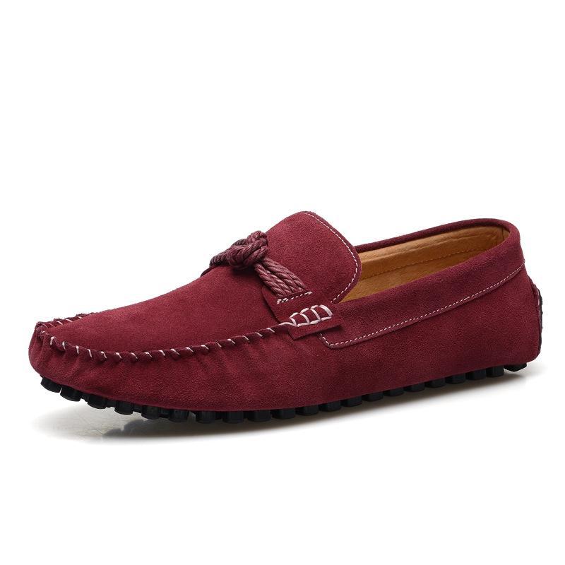 Мокасин Homme Новый стиль Мужчины натуральная кожа мокасины Классические Удобные вождения Обувь Casual кожаные ботинки Man Zapatos HOMBRE