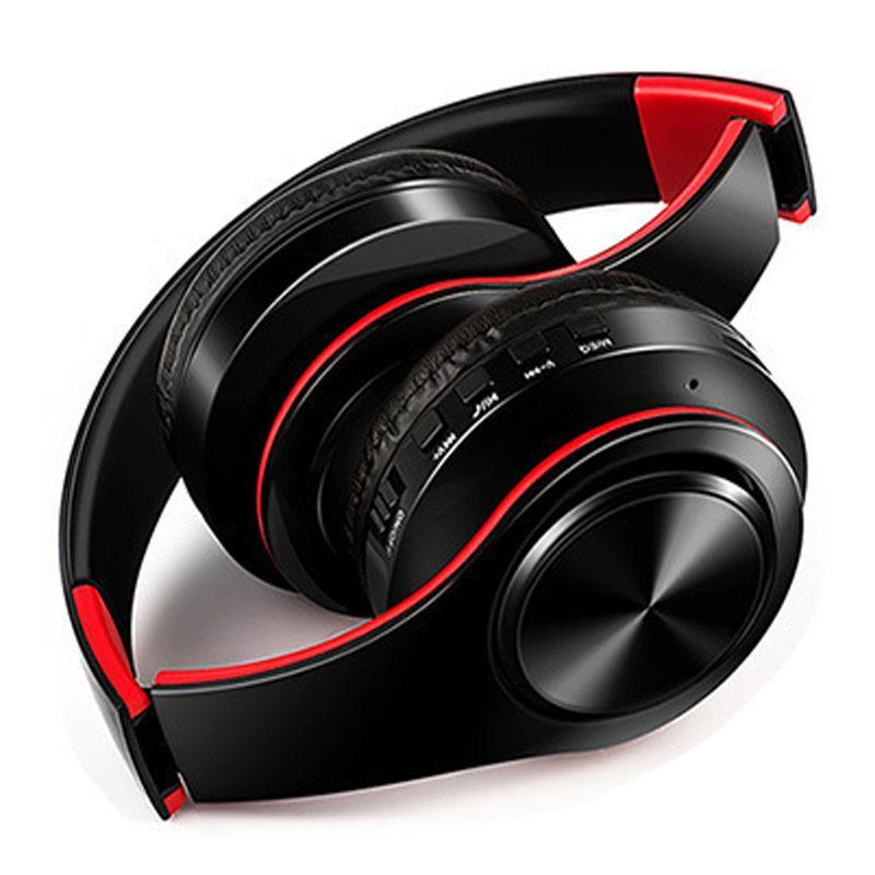 NDJU Oreillettes Bluetooth inalambrico Fone de Ouvido Fio cascos Inalambrico Sem Bluetooth mains libres com Microfone Dobrável Ajustável para