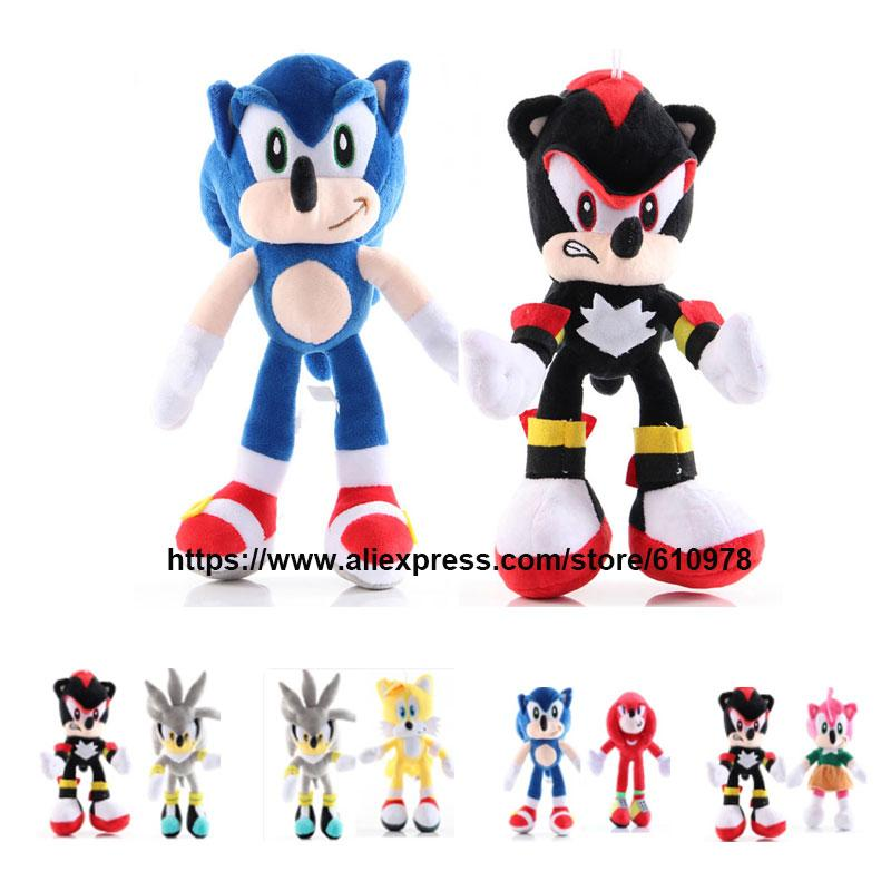 2020 Ohmetoy Sonic The Hedgehog Stuffed Animals Plush Doll Toy Amy Rose Shadow Knuckles Echidna Tails Miles Prower Birthday Gift From Arielbaby 10 05 Dhgate Com