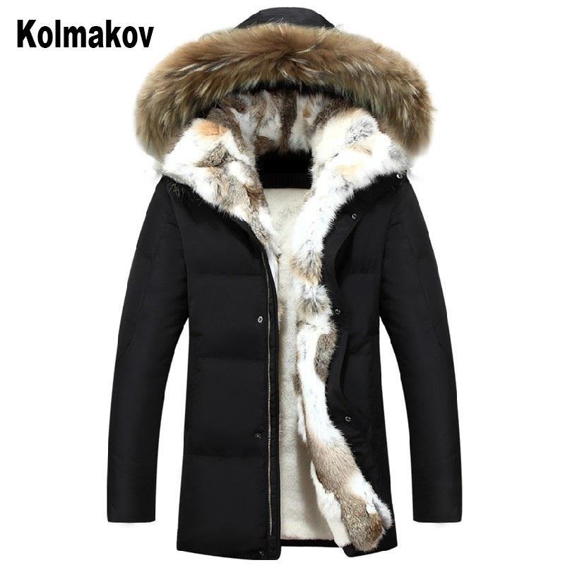 2019 зима для мужской куртки сверхлегкий Белый утка пуховик Мужские пуховики открытый зима мужской повседневная пальто