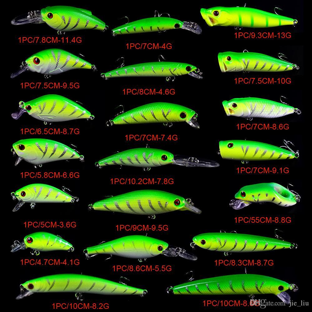 "Soft plastic 2/"" green curl tail grub fish bait USA made 50 piece lot"