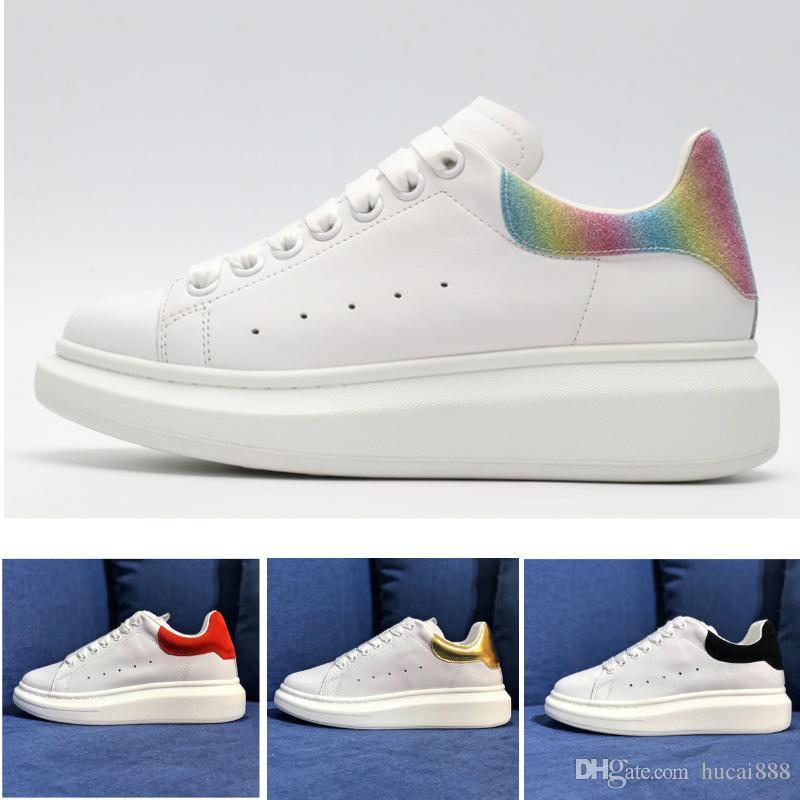 Luxury McQueen air jordan Asics Vans Binle basketball off white red bottoms slipper sandel designer shoes women men  Blanc En Cuir Confortable Chaussures Course Plates Chaussures