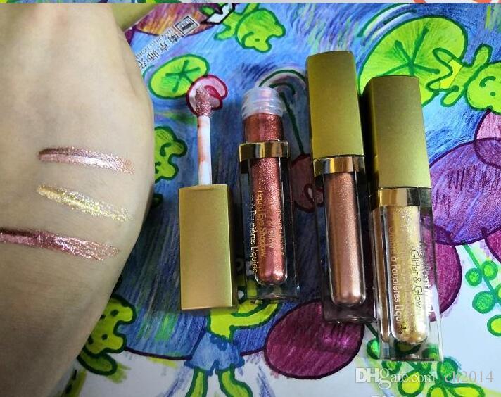 Stila glitter líquido Eye set sombra 3pc seyeshadow conjunto paleta Glitter On The Go Edição limitada Sombra Kit