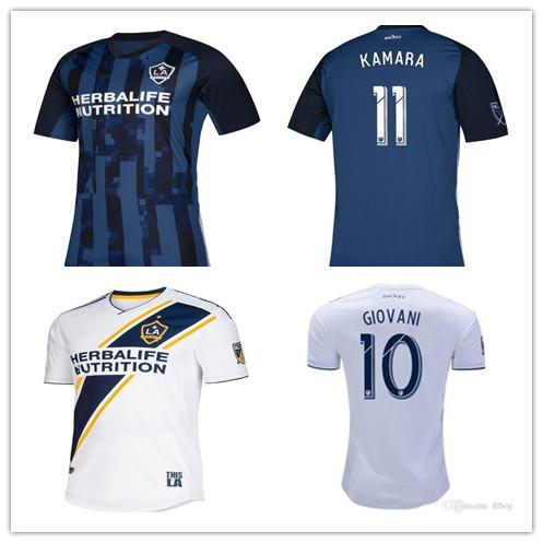 on sale 32f79 ce992 2019 MEN La Galaxy 2019 Zlatan IBRAHIMOVIC Soccer Jerseys 19 20 Los Angeles  Galaxy Long SLEEVE GIOVANI ALESSANDRINI Football Shirts From ...