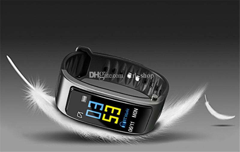 Y3 ساعة ذكية سوار 2 في 1 سماعات بلوتوث سماعة رصد معدل ضربات القلب للهواتف الذكية فون سامسونج