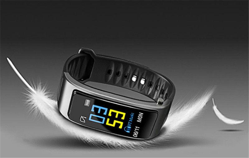 y3 smart watch Bracelet 2 in 1 bluetooth headphones headset Heart Rate Monitor For iphone samsung smartphones