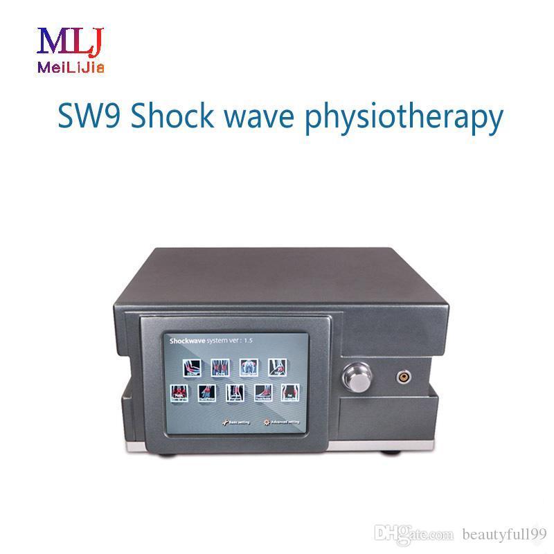 Preço Baixo! Portátil Shockwave Celulite máquina de Terapia Máquina de Fisioterapia pneumática