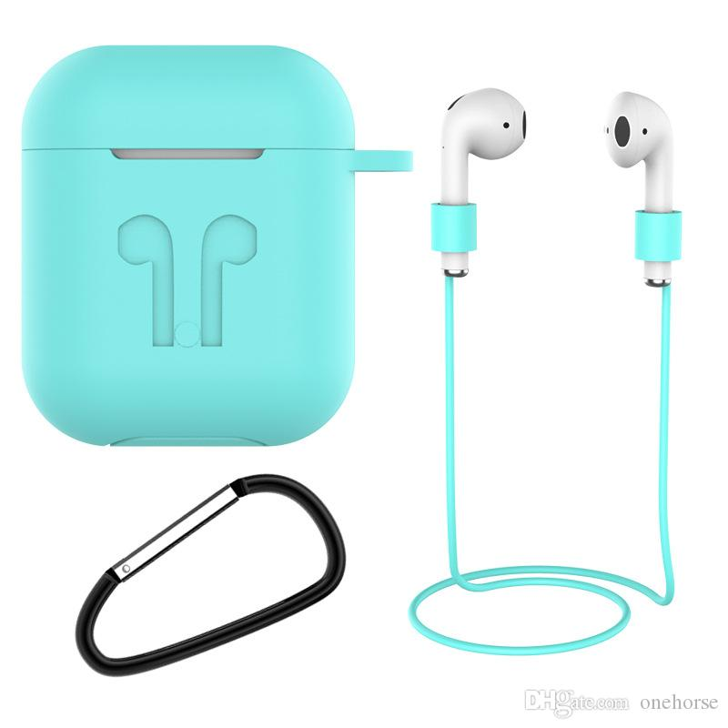 2020 Earphone Charging Case Protective Skin Silicone Headset