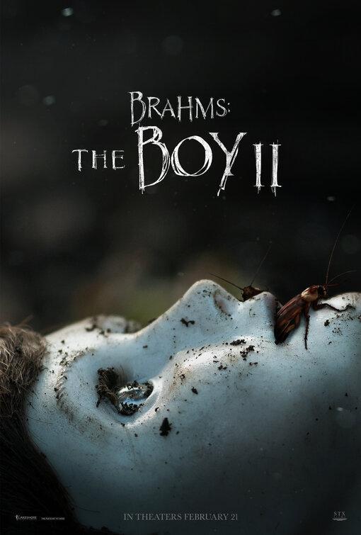Brahms: The Boy II seda del arte del cartel nueva película 02