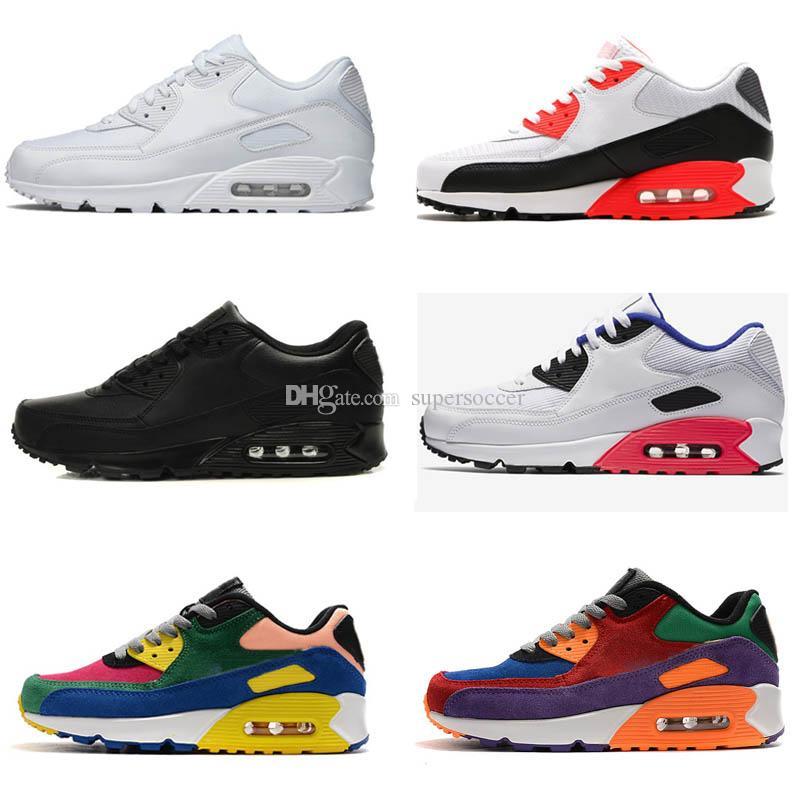 Hot venda Almofada Homens Mulheres Running Shoes Sneaker Sports Shoes Formadores Tamanho 36-45