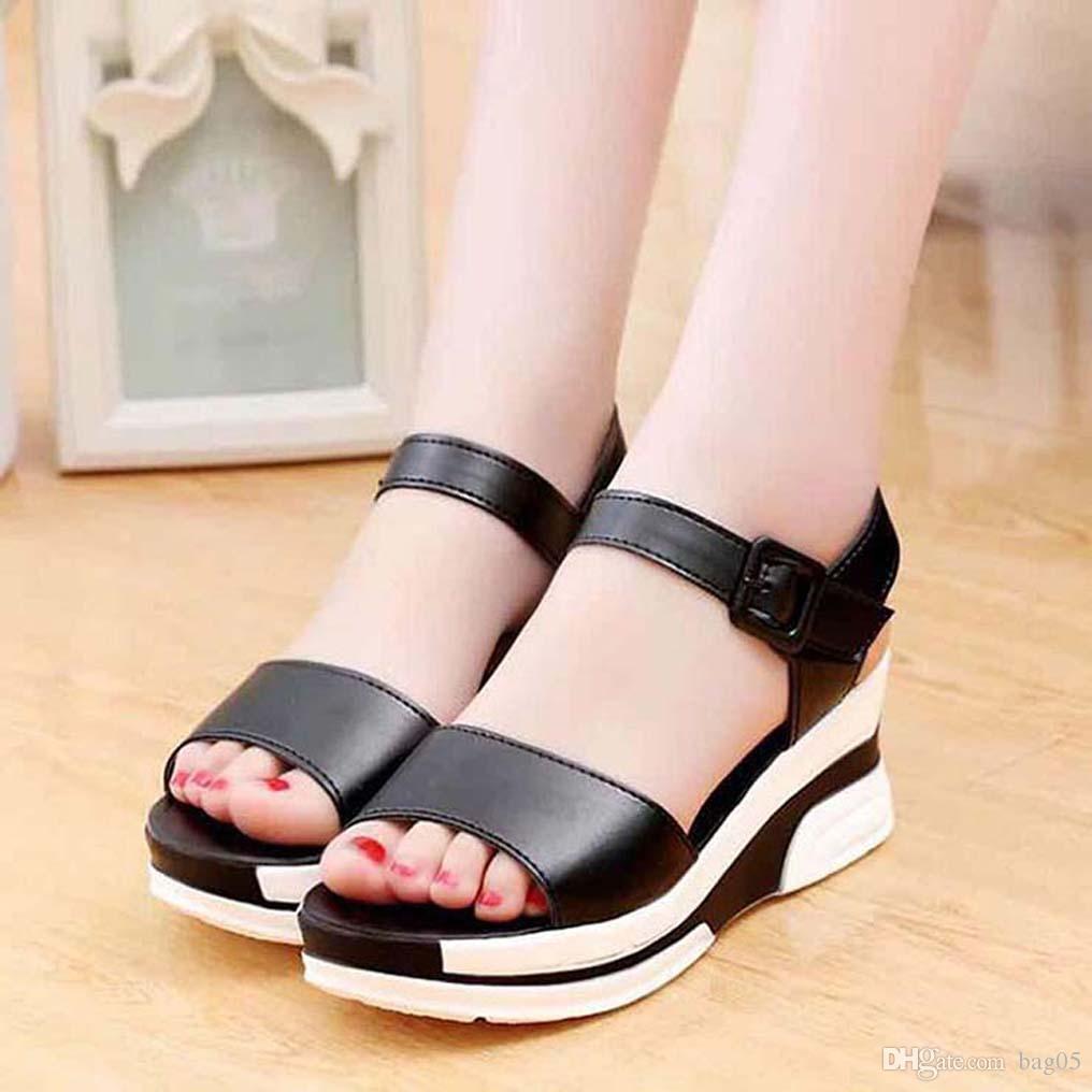 bayan ayakkabı Sandalet Yüksek Kaliteli topuklu Sandalet Terlik Huaraches terlik bag05 PL531 için Floplar loafer'lar ayakkabı çevirin