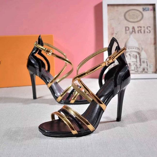r Kadınlar Yüksek Topuklar Parti Moda Kız Seksi Sivri Ayakkabı Dans Ayakkabıları Düğün Ayakkabıları sapanlar Sandalet