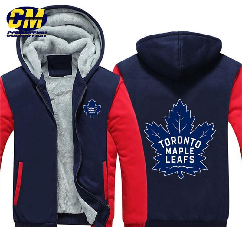 Toronto Maple Leafs New Cloth Apparel Hoodie Men/'s Zipper Hoodie Size S to 3XL